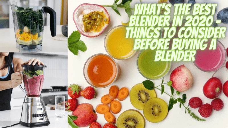 What is the best blender