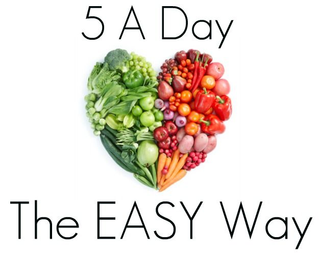 5 A Day – How to Eat Healthy